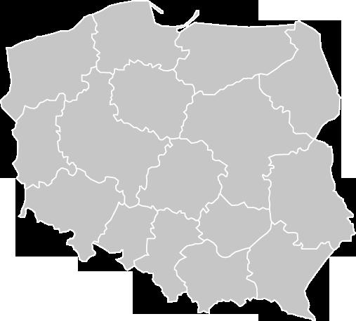 Pogodowa mapa Polski